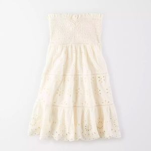 NEW American Eagle Smocked Crochet Mini Dress